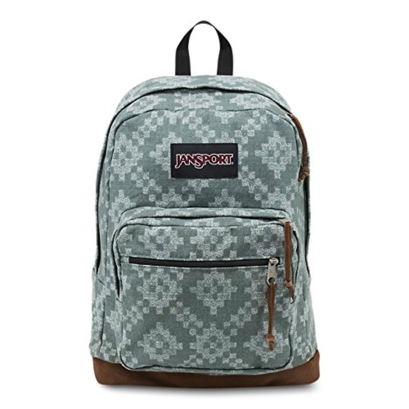 5b6ce7dc04e2 JanSport Right Pack Expressions Frost Teal Diamond